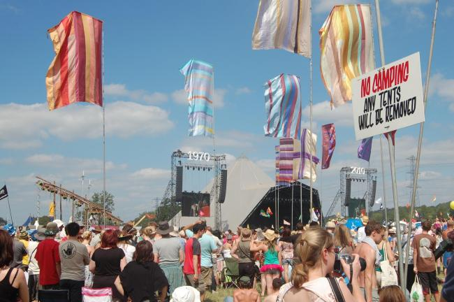 IN NEED OF A BOOST: Festivals like Glastonbury