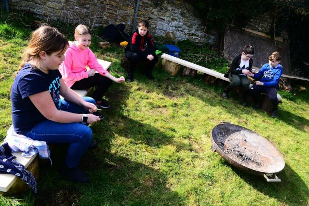 Chard & Ilminster News: Stoke-Sub-Hamdon School ; Tintagel Class Forest School