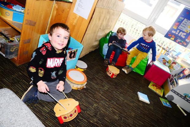 Chard & Ilminster News: Stoke-Sub-Hamdon School ; Tiny Turrets Nursery