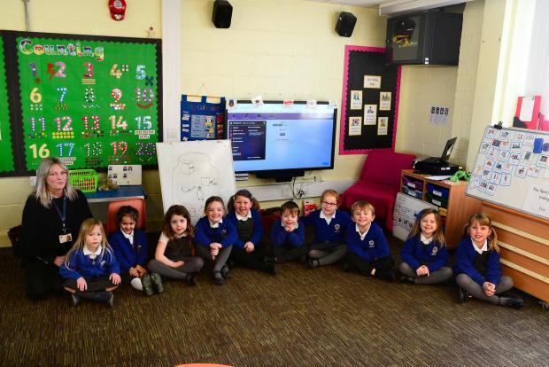 Chard & Ilminster News: Stoke-Sub-Hamdon School ; Reception Class with Miss Dodge