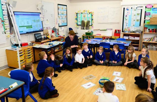Chard & Ilminster News: Stoke-Sub-Hamdon School ; Corfe Class with Mrs Downes