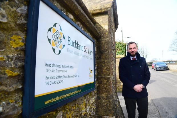 Chard & Ilminster News: Buckland St Mary Primary School ; Gareth Nation