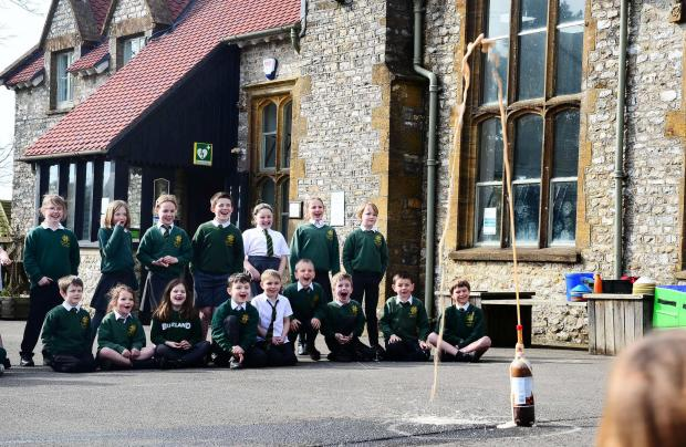 Chard & Ilminster News: Buckland St Mary Primary School ; Science Week