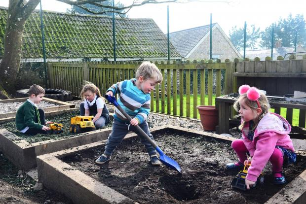 Chard & Ilminster News: Buckland St Mary Primary School ; pupils from Ash Class