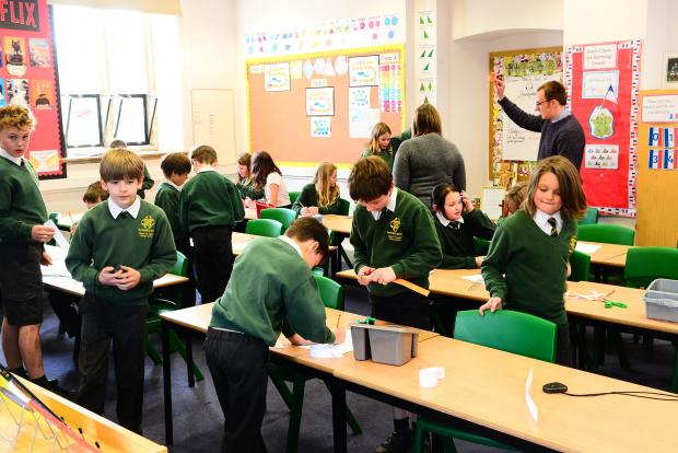 Chard & Ilminster News: Buckland St Mary Primary School ; back to school after lockdown ; Coronavirus  / Covid 19 / Covid-19