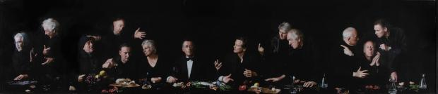 Chard & Ilminster News: LOT: The Actors Last Supper by Alistair Morrison - £ 1,000 to £ 2,000