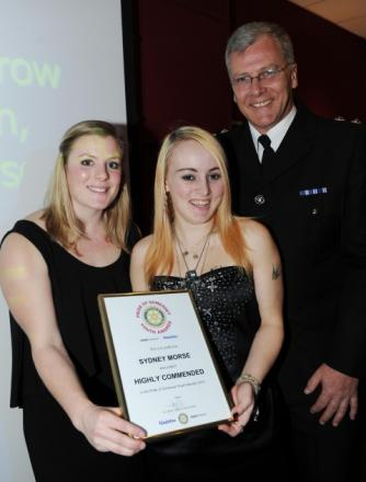 Photos from the Pride of Somerset Youth Awards presentation ceremony 2012 at Somerset College.