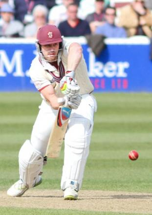 Nick Compton in action for Somerset