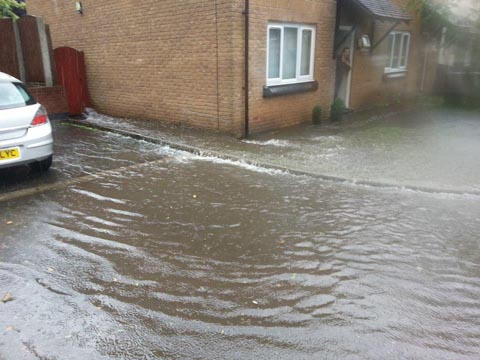 FLOODS: Warning to people returning home after the floods.