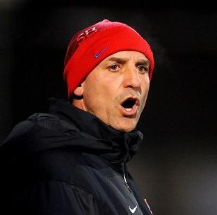 Chard & Ilminster News: Steve Bould shared Arsenal fans' frustration on Wednesday night