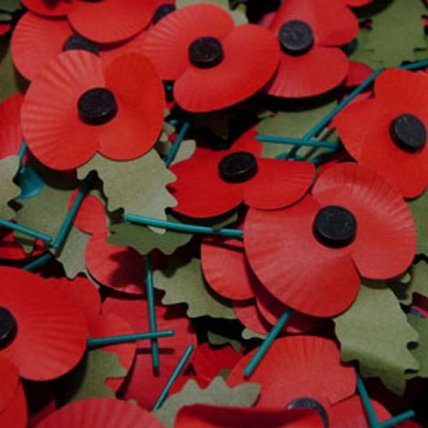 Please give to the Poppy Appeal