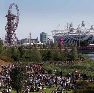 A poll showed that 78 per cent of Britons believe the 2012 Olympics was value for money