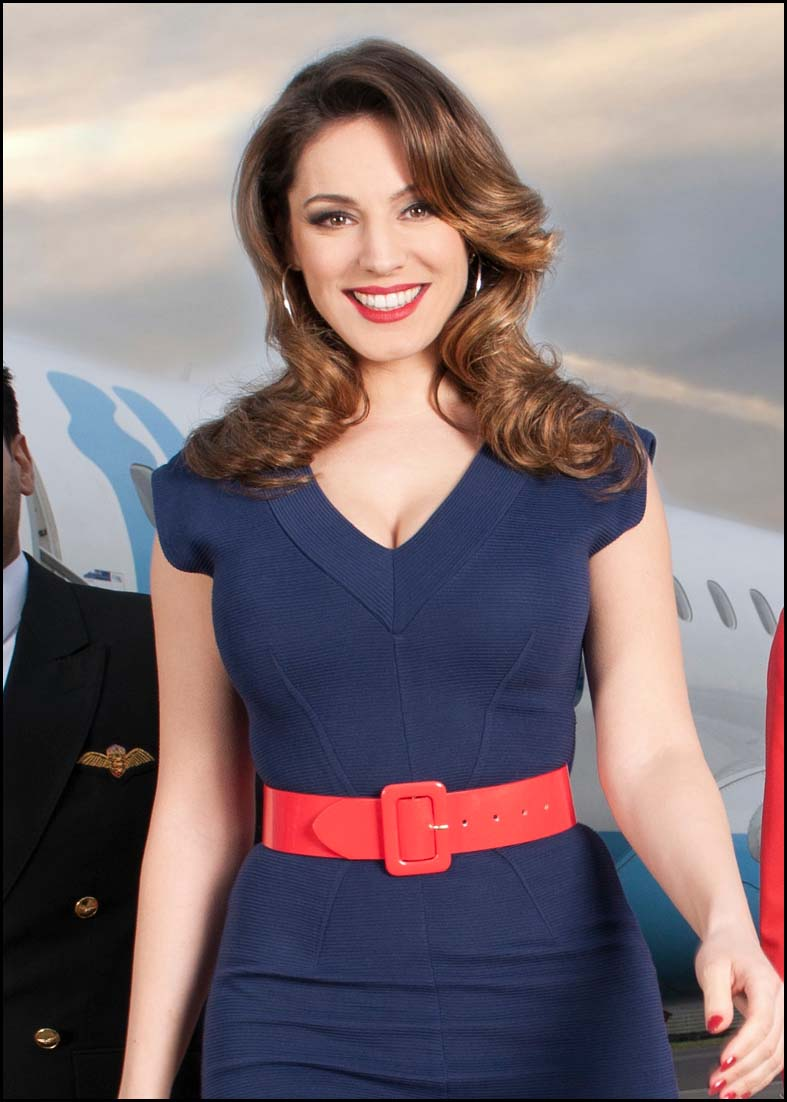 Chard & Ilminster News: Kelly Brook for Sky Go Extra.JPG