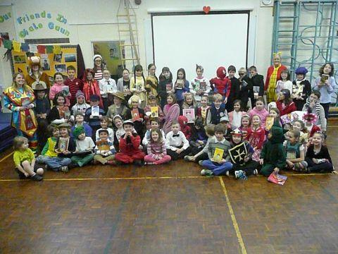 Characters aplenty at Thorncombe for World Book Day