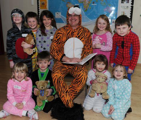 PCSO dresses at Tigger for World Book Day