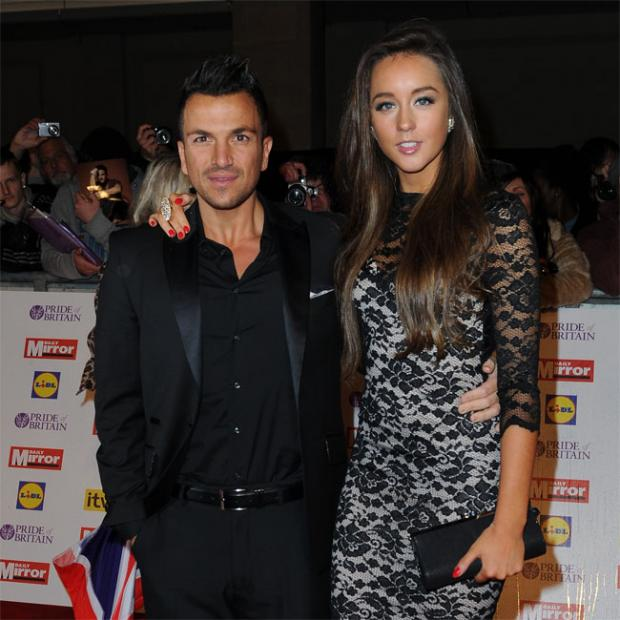 Chard & Ilminster News: Peter Andre and Emily MacDonagh.