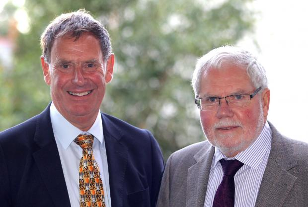 Chard & Ilminster News: Tim Taylor and John Williams.