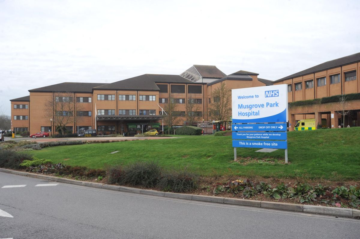 Musgrove Park Hospital in Taunton.