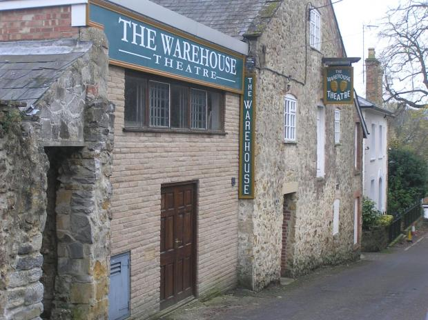 The Warehouse Theatre.