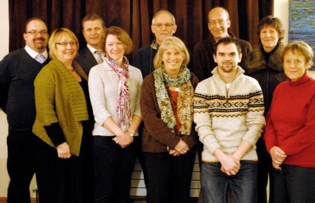 Chard & Ilminster News: HEAD teachers and chairmen of the governors of the Willow Schools Co-operative Trust.