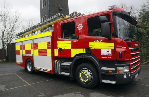 Transit van fire in Crewkerne