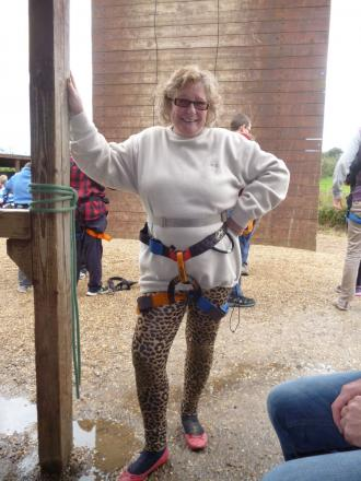Ilminster councillor abseils for charity