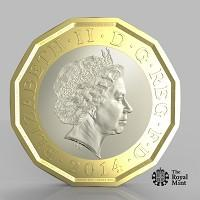 Chard & Ilminster News: The new one pound coin announced by the Government will be the most secure coin in circulation in the world (HM Treasury/PA)
