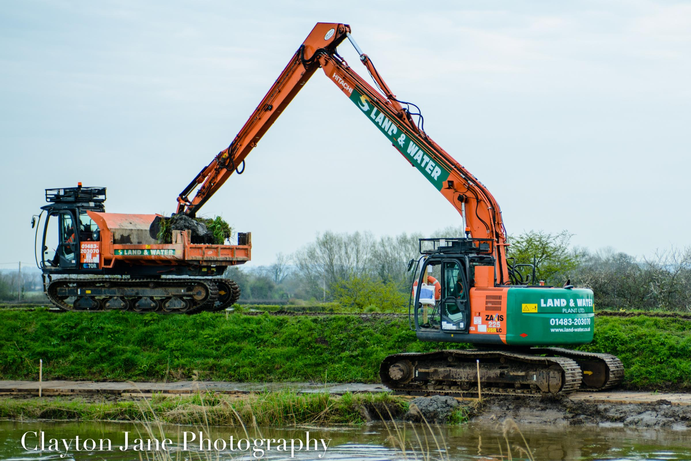 Dredging in the Somerset Levels