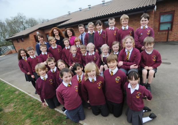 Chard & Ilminster News: Redstart Primary School's Ofsted delight