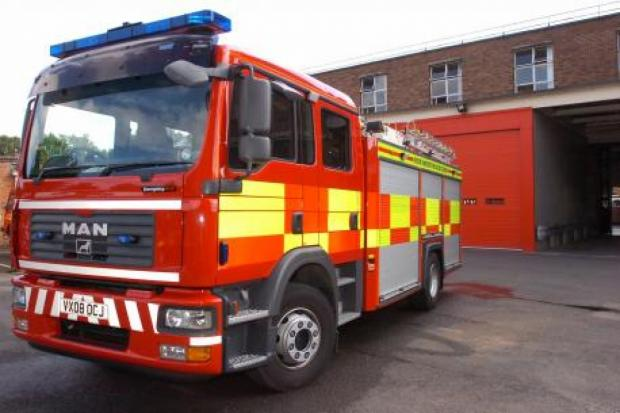 Chard & Ilminster News: Bus fire in Chard