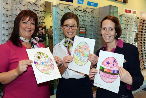 Chard Specsavers Easter competition winner announced
