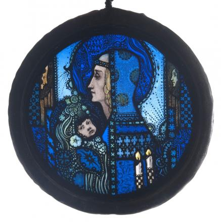 Stain glass panel fetches £44,200 at Crewkerne auction