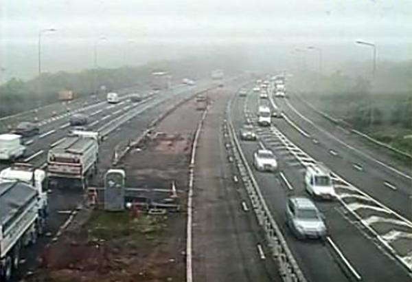 Pedestrian killed on M5 in Somerset