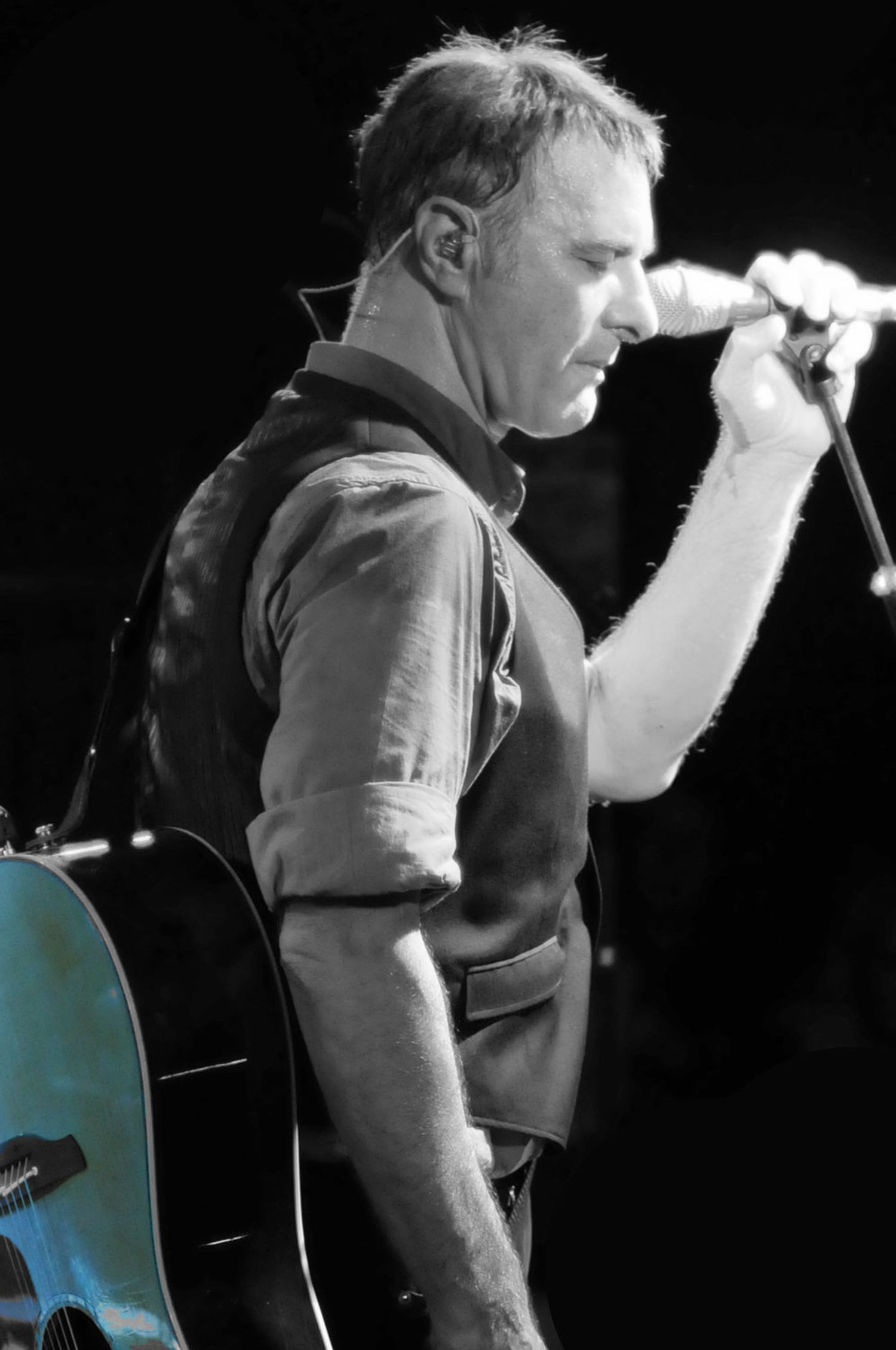 STEVE Harley was set to perform for Somerset. PHOTO: Jas Sansi.