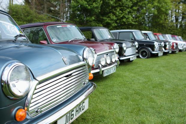 Minis on show at Misterton Annual Fete