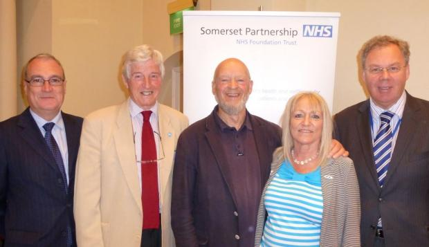 Chard & Ilminster News: Michael Eavis in Ilminster for Somerset Carers Day