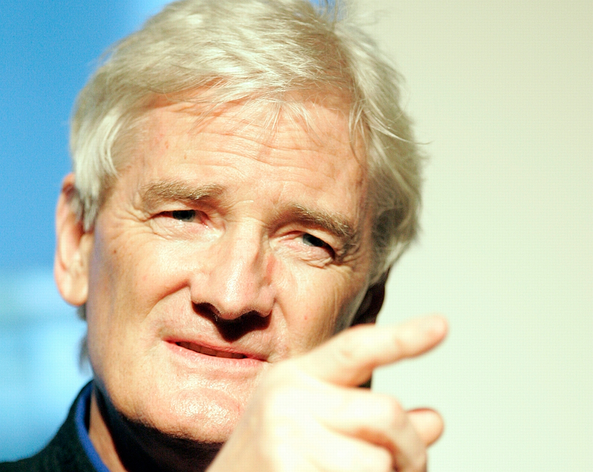 Sir James Dyson. Photo: Eva Rinaldi.