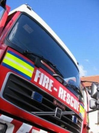 Fire teams rescue child trapped in car in Chard