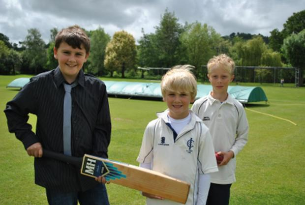 PICTURES: Charity day at Ilminster Cricket Club