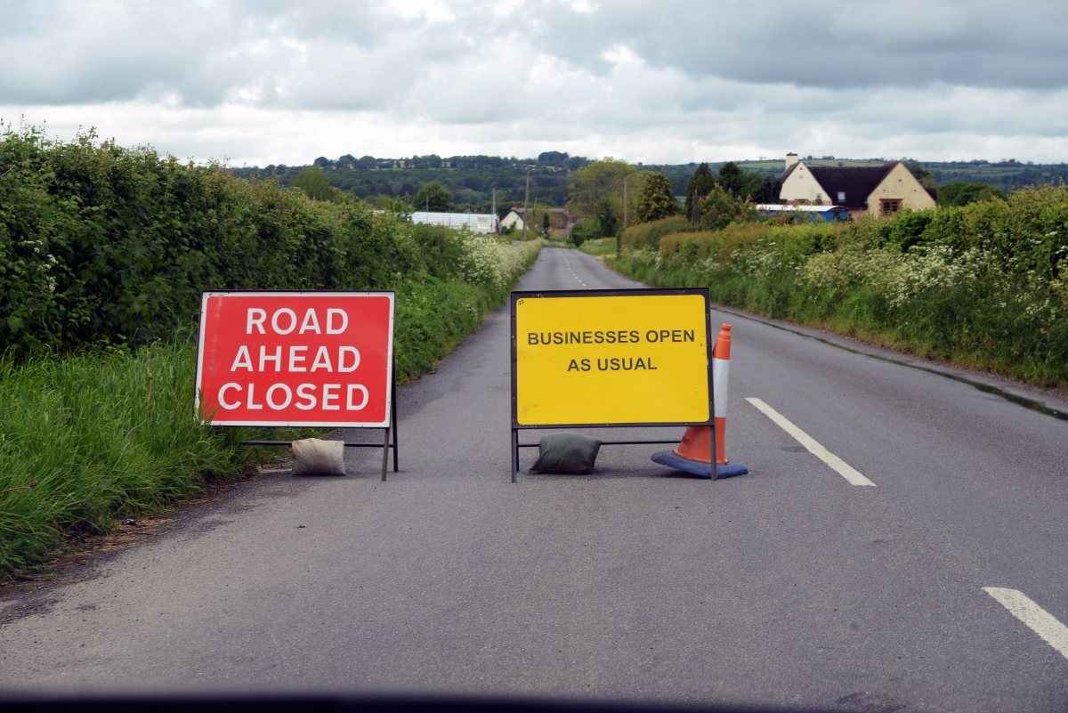 Business owner angered by road closure between Chard and Ilminster