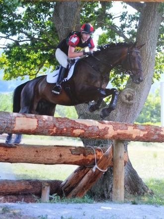 EVENTING: Classy show by Billie-Ann at Pontispool