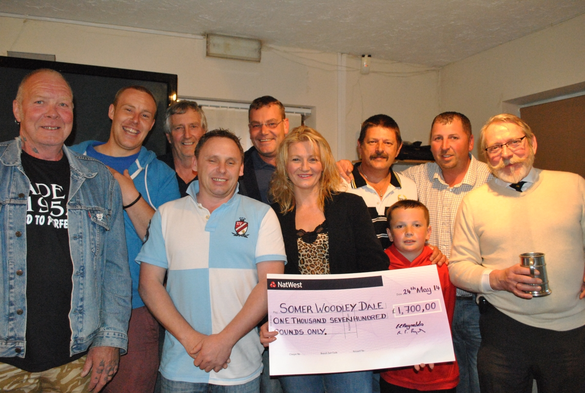 South Petherton darts players fundraiser