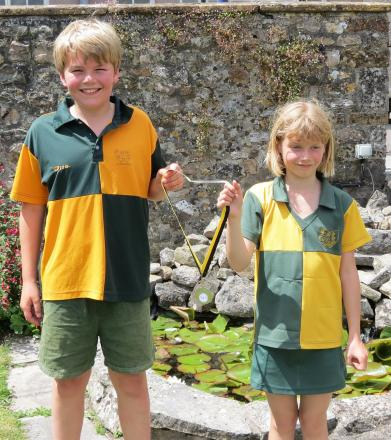 ATHLETICS: National silver medals for two Chard School pupils