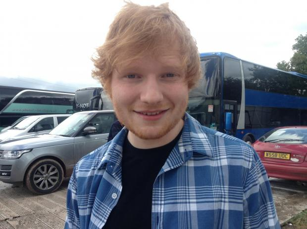 Chard & Ilminster News: Ed Sheeran.jpg