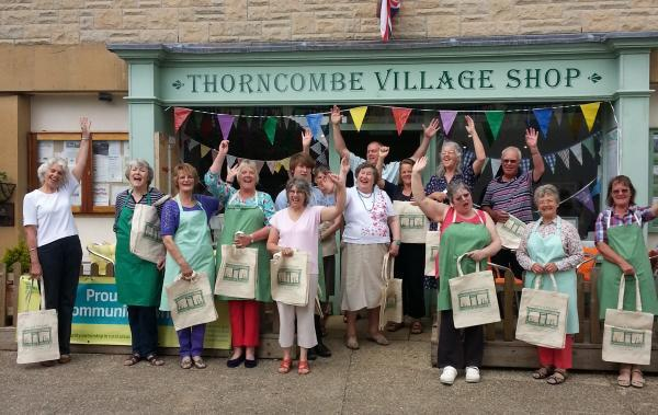 Community fortnight at Thorncombe village shop