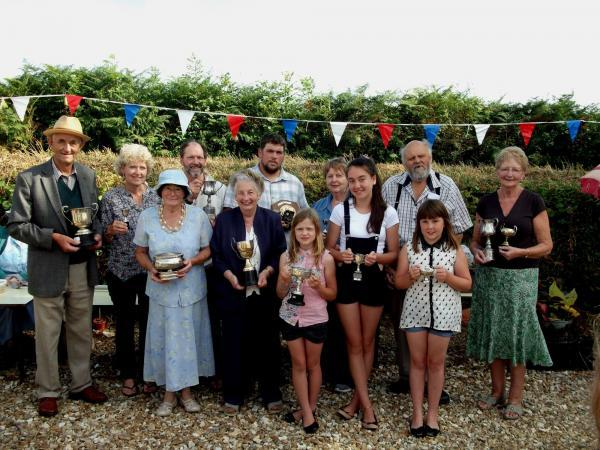 Holditch Flower Show winners revealed
