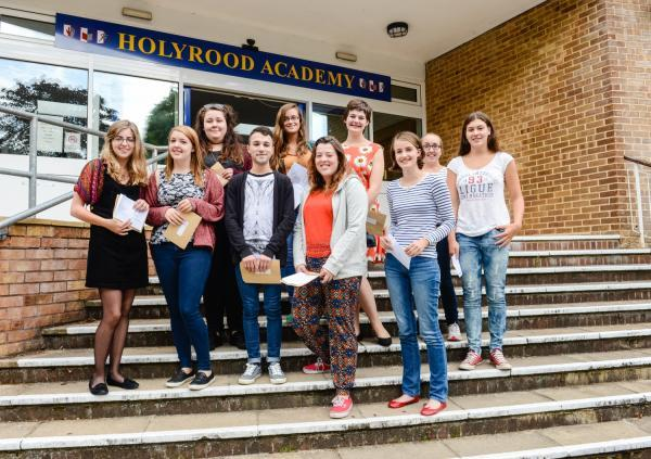 A LEVEL RESULTS: 21% of Holyrood Academy students given A* or A grades