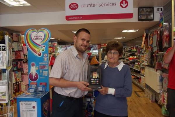 Chard Post Office competition winner