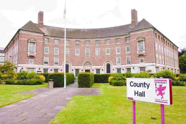 Somerset County Council's County Hall