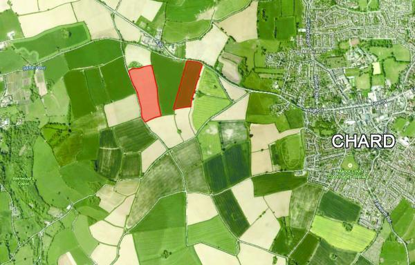 Plans submitted for solar farm the size of 14 football pitches near Chard